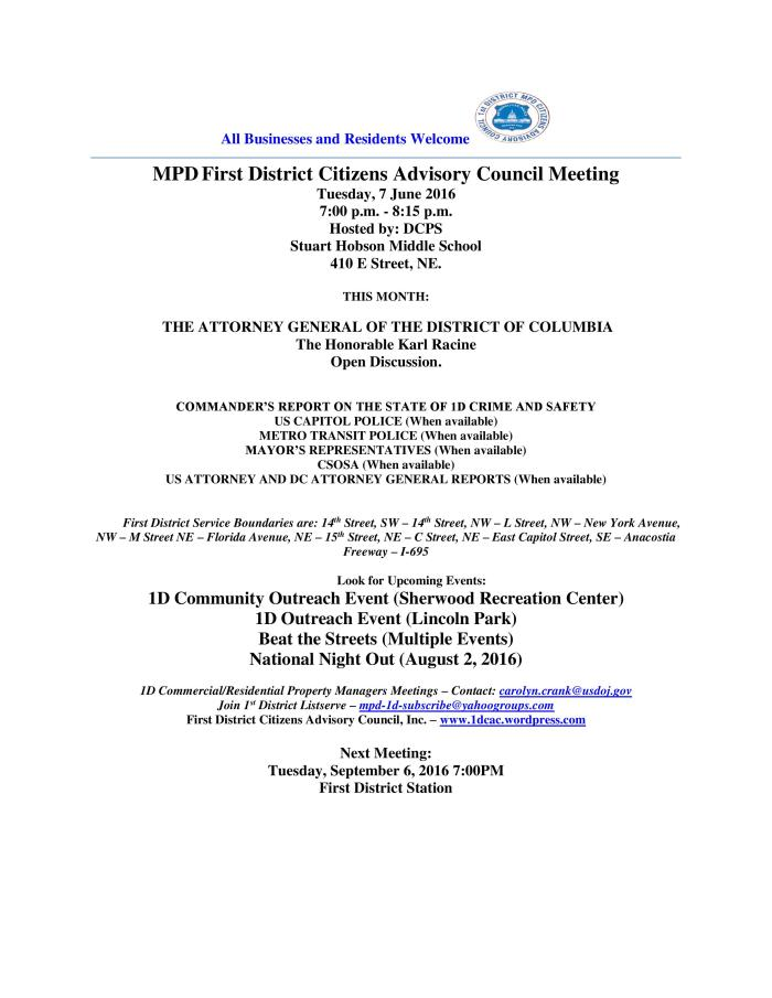 June CAC Meeting Flyer 060716
