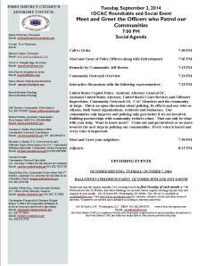 September Agenda 090214