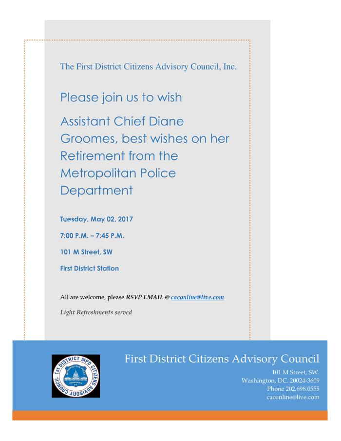 The First District Citizens Advisory Council Invitation Groomes 050217 INVITE