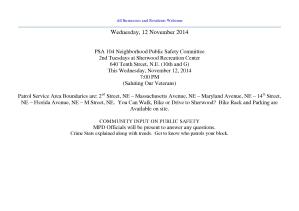 November 12 2014 PSA Notice