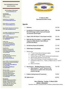 PSA 104 February 11 2014 Meeting Agenda - Internet