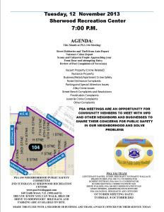 PSA Flyer 12 November 2013