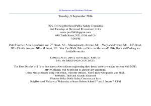 September 9 2014 PSA Notice