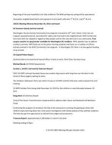 1DCAC Meeting Minutes November 05_2