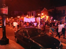 H Street Protest Black Lives Matter 083014
