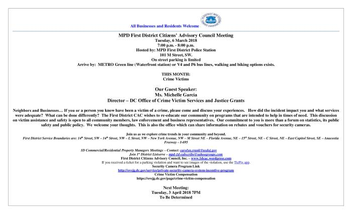 CAC Meeting Flyer 030618 WV