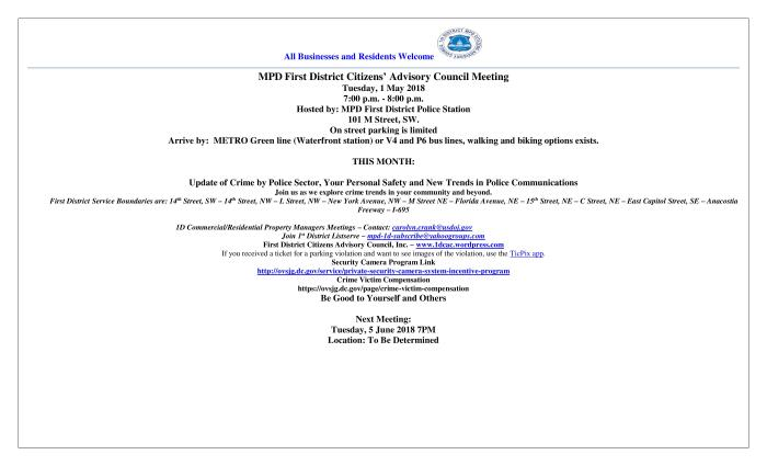 CAC Meeting Flyer 050118 WV