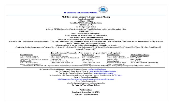 CAC Meeting Flyer 060518 WV