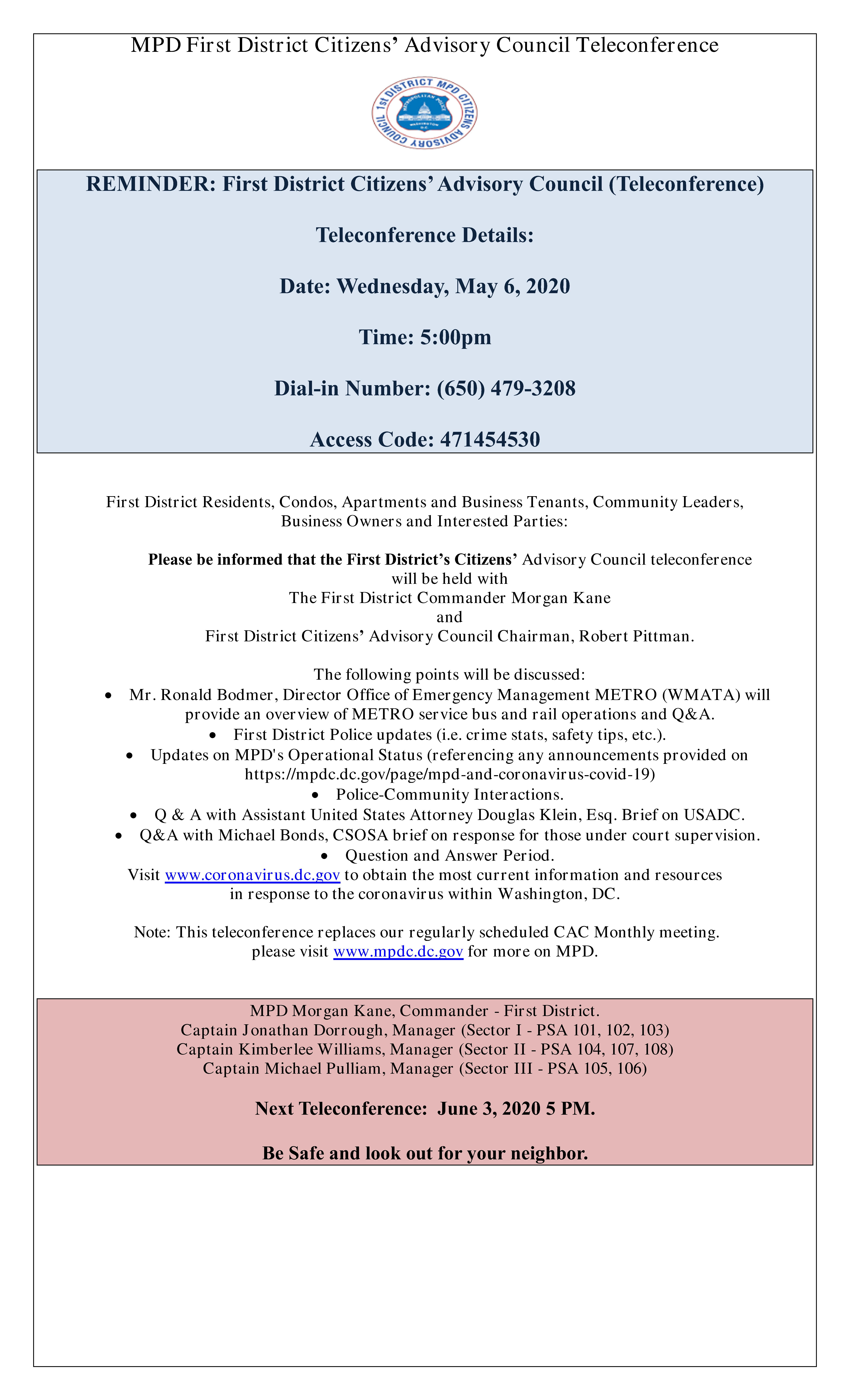 CAC Meeting Flyer 050620 Reminder
