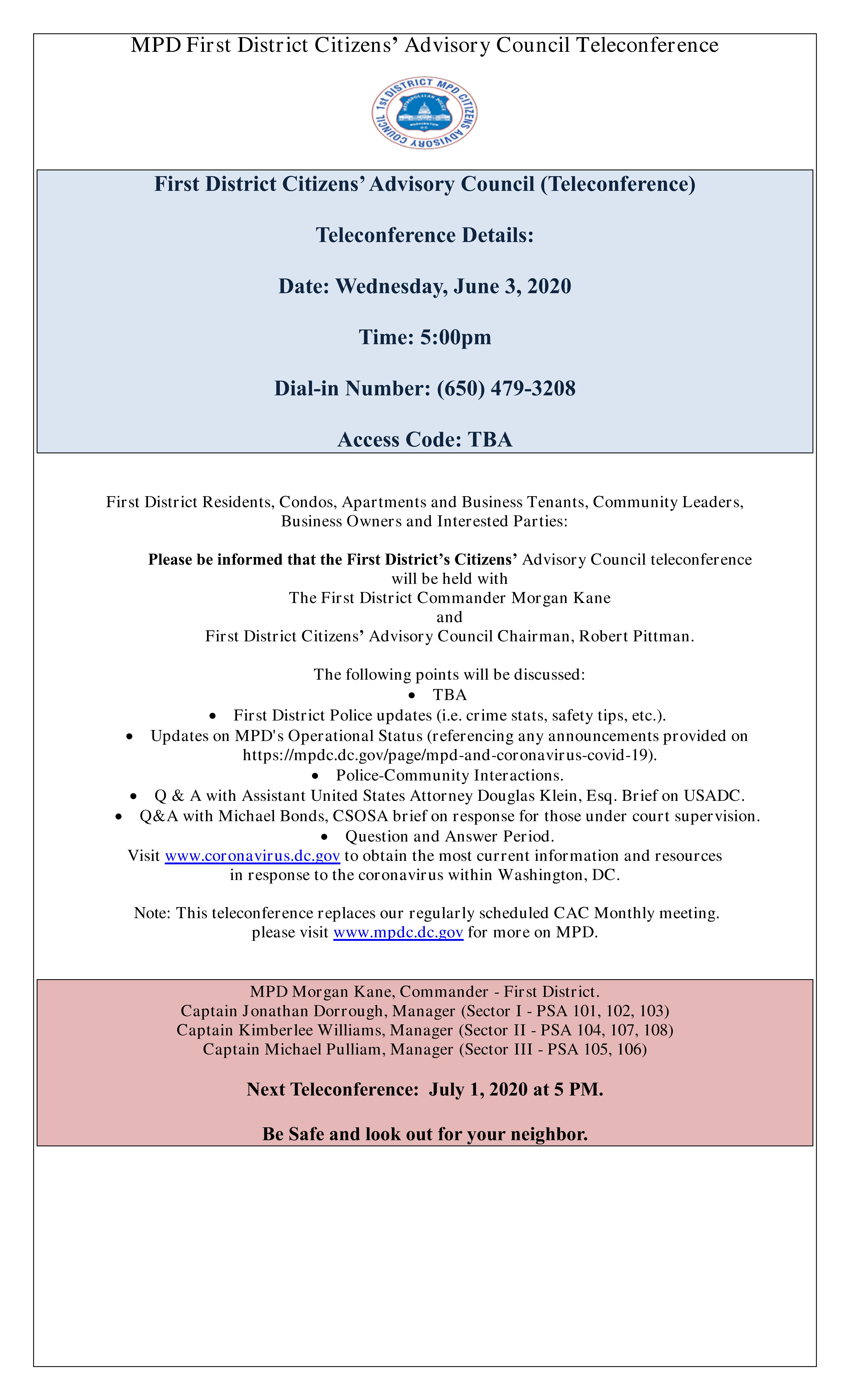 CAC Meeting Flyer 060320